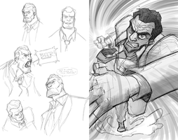Agent Fowler practice by will-Ruzicka