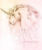 Vintage Unicorn by chutsketch