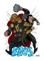 Asgard bros by stayte-of-the-art