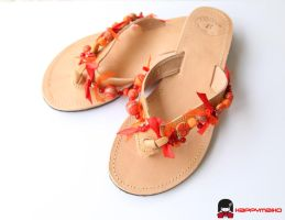 Passion for Sahara summer sandals by happymaiko