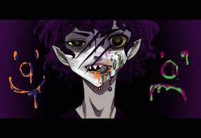 Gamzee Makara : 26 August 2013 by PaperPlatePhace