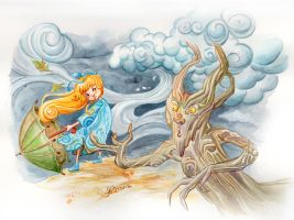 Windy Day by AniaMohrbacher