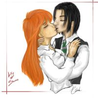 Lily and Severus by Devain