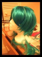 Azumarill Wig Cosplay W.I.P by Zouai