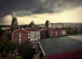 Apocalypse Ankara Tilt-shift by cheyrek