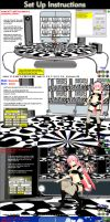MMD Luka Psychedelia Stage instructions by Trackdancer