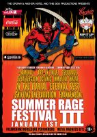 Summer Rage 3 Poster by SeventhSealDesigns
