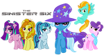 say hello to the ANTI-MANE SIX by titanium-pony