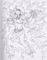 Call Lightning - Lineart by Storm-Torrent
