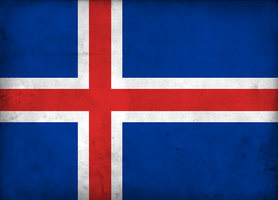 Grunge Flag of Iceland by pnkrckr