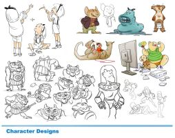 Character Design Page3 by alxcote