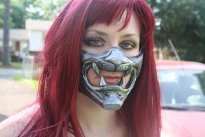 Taki Soul Calibur mask. by cimmerianwillow