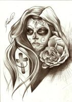 Lady of death by Fernandords