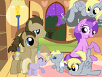 The Muffin Clan by StarryOak