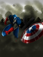 Captain America by cesarmascarenhas