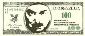 Orwell's 1984 Oceania's Currency by DungSC127
