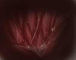 Stomach doodle painting... thing by kuberfish