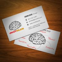 Juicy Brain Business Card by KaixerGroup