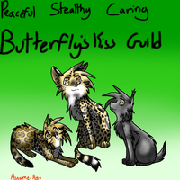 WiF Butterfly's Kiss Guild Poster by NikkiiChi
