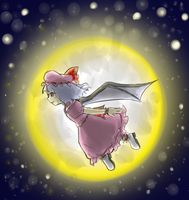 Touhou - Moonlight Remilia by Minon