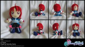 Plushie: Mao - Tales of Rebirt by Serenity-Sama
