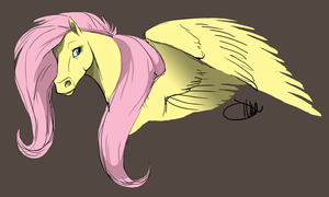 Fluttershy -my style- by cellaradore
