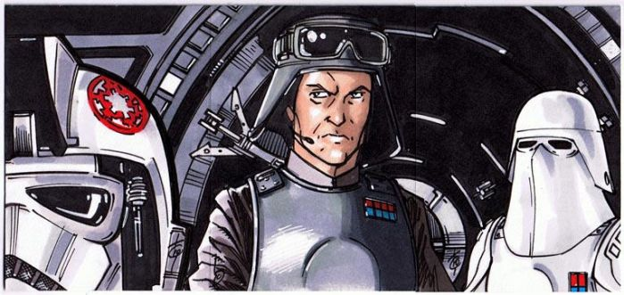 AT AT Cockpit from ESB by Hodges-Art