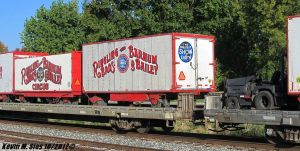 Ringling Brothers Barnum Bailey Circus Train P922 by EternalFlame1891