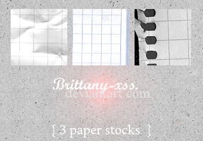 Stocks 01 - Papers by brittany-xss