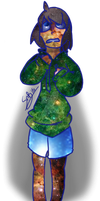 Made of Galaxies (style test) by CrisisSpades