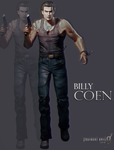 Resident Evil 0 - Billy Coen Render by WeskerFan1236