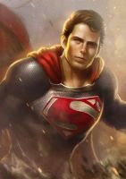 Superman by GerryArthur