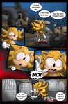 Super Sonic: Nothing to Fear Page 3 by Okida