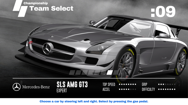 Super GT 2: Car Select Screen by jetsetsonic