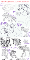 Sketchdump 2011 Dec by Deathcomes4u