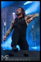 As I Lay Dying - Tim Lambesis by sicmentale