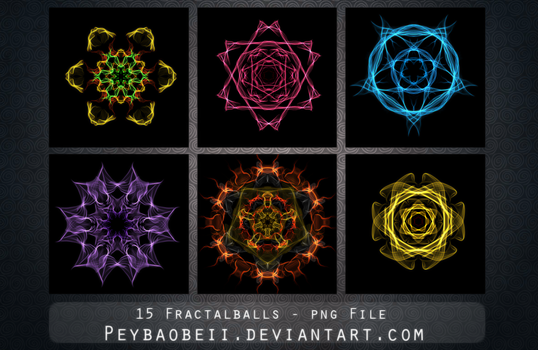 Fractal Pack by Peybaobeii