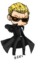 Wesker Chibi by Little-Imp-Rin