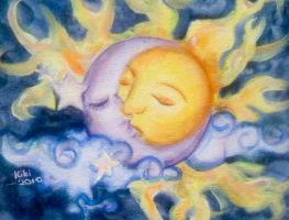 sun and the moon by kikisang3ls