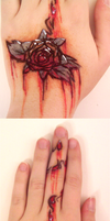 -Rose- temp. tattoo by MATicDesignS
