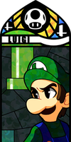 Smash Bros - Luigi by Quas-quas