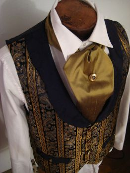 Steampunk Gentleman's Vest by dreadnoughtdesigns