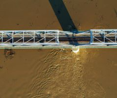 Aerialphoto - LHS bridge by Aero73