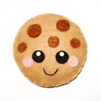 Cute Cookie Felt Accessory by LittleMissDelicious