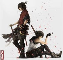 Shuin and Saia by sXeven