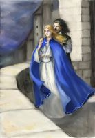 Eowyn and Faramir by TolmanCotton