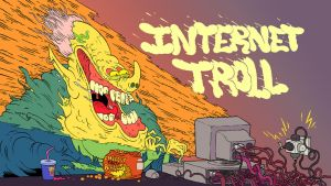 internet troll by mrdynamite