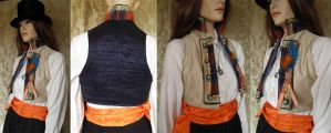 Victorian Scottish inspired bolero PCCB4-4 by JanuaryGuest