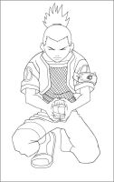 shikamaru by KlyrREIN