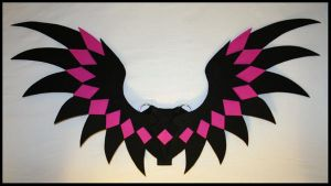 Pink Diamonds Wings by CraftyWingy
